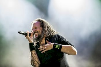 Korn lors du Download Festival 2016